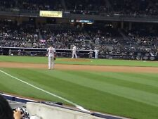 2 - First/Second Row Field Level Sec. 110 New York Yankees Tickets 6/9 v Angels