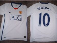 "Manchester United Rooney Jersey Shirt Boys L 32"" Soccer Football Nike England W"