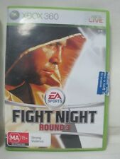 XBOX 360 GAME FIGHT NIGHT ROUND 3 PAL Game