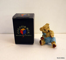 Peter Fagan Colourbox Teddy Bears boxed Fred, Little boy bear