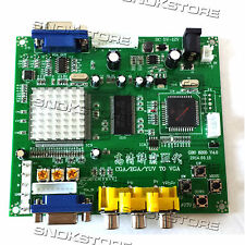 VIDEO CONVERTER BOARD ARCADE GAME GBS8200 RGB CGA EGA YUV to VGA ATARI AMIGA