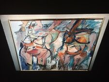 "William De Kooning ""Two Women, In Situ"" Abstract Expressionist 35mm Art Slide"