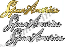 Span America Boat Decal Set - Remastered name plate