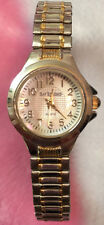 BAY STUDIO Women's Gold & Silver Elastic Band Wrist Watch
