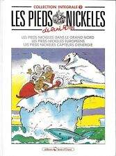 LES PIEDS NICKELES : COLLECTION INTEGRALE T. 2 - PELLOS - VENTS D'OUEST