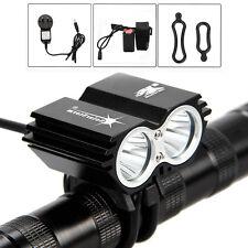 SolarStorm 6000Lm 2x XM-L U2 LED Bicycle Lamp bike Light MTB HeadLight 4x18650