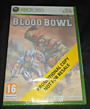 *NEW* Blood Bowl Xbox 360 *SEALED - PROMO* FULL GAME* Games Workshop