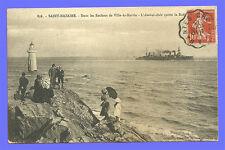 CPA-44- SAINT-NAZAIRE - Dans les rochers de VILLE-ès-Martin - L'Amiral-Aube