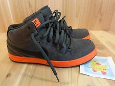 NIKE Mogan 3 Lunarlon Athletic Shoes Men Size 10.5 Black Orange 2012 Skater