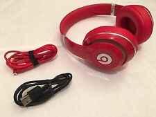 New Beats Studio Wireless Studio 2.0 Bluetooth Headphones (B0501) - Red