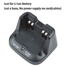 Base no power supply for ICOM IC-V8E Walkie Talkie Li-ion Battery Charger
