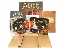 American McGee's Alice - Bloody Knife Version for Windows 95/98/ME  ORIGINAL BOX