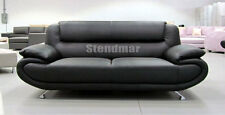 NEW MODERN EURO DESIGN LEATHER SOFA S51