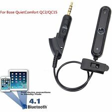 Bluetooth Wireless Converter Adapter Audio Music Cable For QC2/QC15 Headphones