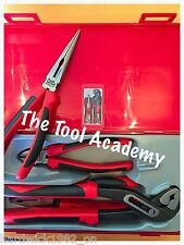 JANUARY SALE Teng Tools TPR PLIER SET 4 Pce Plier Grip Cutter Tool Set In Case