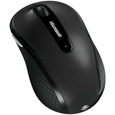 Microsoft D5D-00001 Wireless Mobile Mouse 4000 - USB - 4 x Button - Black