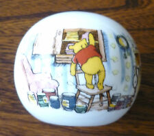 ROYAL DOULTON Child's Ball Shaped Money Box - Winnie The Pooh, Disney -Excellent