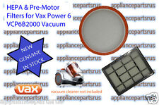 Vax Power 6 Bagless Vacuum Cleaner Filter Pack Part No VCP6BFLT Model VCP6B2000