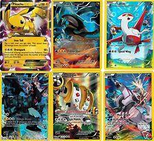 Pikachu EX XY84 Mint Pokemon Promo +5 Full Art + Palkia +Latias +Kyurem + Zekrom