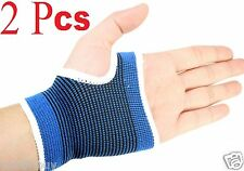 2 Pcs Wrist Hand Brace Palm Elastic Support Carpal Tunnel Tendonitis Pain R