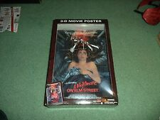 McFarlane Toys 3D 3-D Movie Poster Nightmare on Elm Street Freddy Krueger