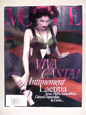Vogue Magazine - French Edition - December, 2009 -- Laetitia Casta - Vogue Paris