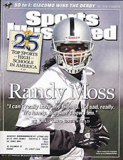 SHIPPED IN A BOX -  Sports Illustrated Magazine May 16 2005 Randy Moss