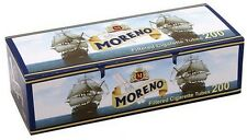 MORENO 200 Filtered Empty Cigarette Tubes