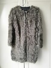 Zara Fur Coat Size 6-8