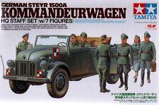 TAMIYA 25149: tedesco STEYR 1500A con 7 cifre-kommandeurwagen HQ personale Set