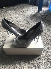 Bourne Shoes Size 6 With Matching Clutch Bag