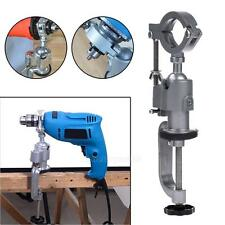 Clamp-on Grinder Holder Bench Vise For Electric Drill Stand 360 Rotating Tools