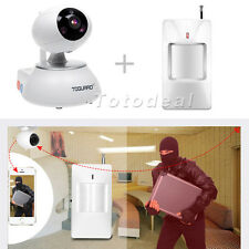 New WiFi Smart HD 720P IP Camera Indoor CCTV Security Surveillance Alarm System