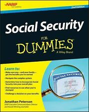 Social Security For Dummies, Peterson, Jonathan, Good Book