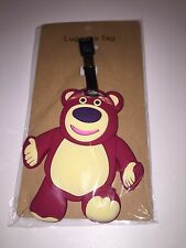NEW Cute  heavy- duty PVC Baggage Luggage Tag Teddy Bear Ship from U.S.