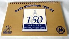 NOTRE DAME FIGHTING IRISH 150th ANNIVERSARY  DAILY SHILLELAGH CALENDAR OF EVENTS
