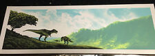 Mark Englert Jurassic Park Life Will Find a Way Signed/# 200 Print Sold Out Rare