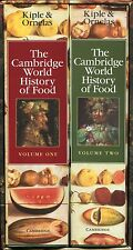 The Cambridge World History of Food Set (2000, Hardcover,1st ed,dj's, boxed)