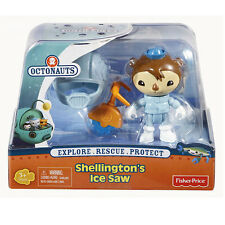 Octonauts - Shellington's Ice Saw - Figure & Creature Pack *BRAND NEW*
