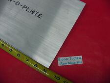 """1/2"""" X 8"""" X 9"""" ALUMINUM 6061 FLAT BAR SOLID T6511 New Mill Stock Plate .500"""""""