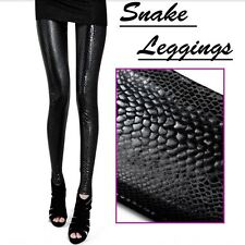 Vogue Women's Leggings Snake Print Sexy Rock Skinny Slim Stretch Pants Trousers