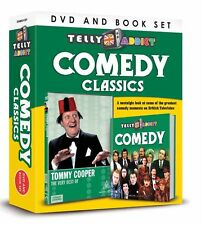 TELLY ADDICTS COMEDY CLASSICS BOOK AND DVD GIFT SET - TOMMY COOPER BEST OF DVD