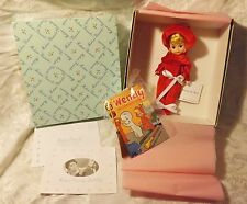 """Madame Alexander 8"""" Doll Wendy the Witch Retired, NEW in Box Casper the Ghost"""