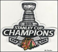 NHL CHICAGO BLACKHAWKS OFFICIAL 2015 CHAMPIONS STANLEY CUP PATCH Iron/Sew On