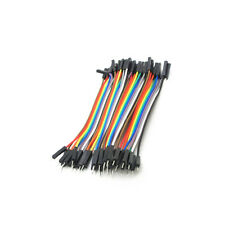 40PCS Dupont 10CM Male To Female Jumper Wire Ribbon Cable for Arduino NEW