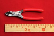 "Snap On PWCS7CF Red  Wire Striper Crimper / Cutter 7"" - New"