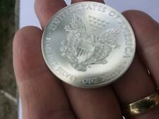 2015 AMERICAN EAGLE PURE SILVER 99.99% PURE BEAUTIFUL  SILVER DOLLAR !