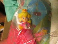 McDONALDS HAPPY MEAL TOY 2017 SUPER MARIO PRINCESS PEACH NEW SEALED