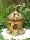 Miniature Dollhouse FAIRY GARDEN ~ Small Acorn Fairy House Cottage ~ NEW