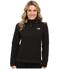 New Womens The North Face Fleece Jacket Crescent Hoody Black XS XS